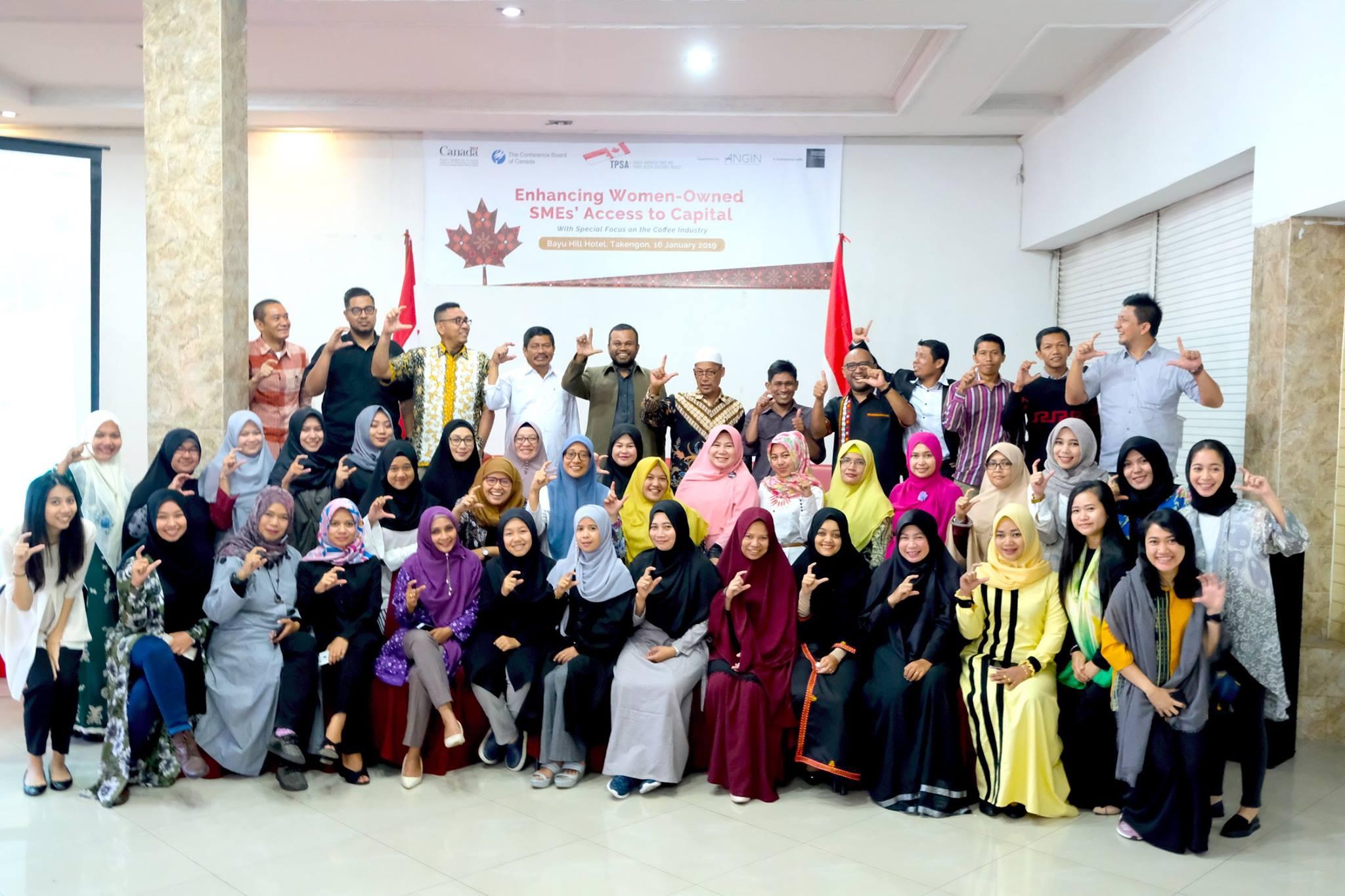 "RECAP] TPSA x ANGIN: One-Day Seminar ""Enhancing Women-Owned SMEs"